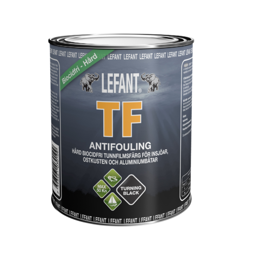 LEFANT TF Antifoulingmaali musta 750ml