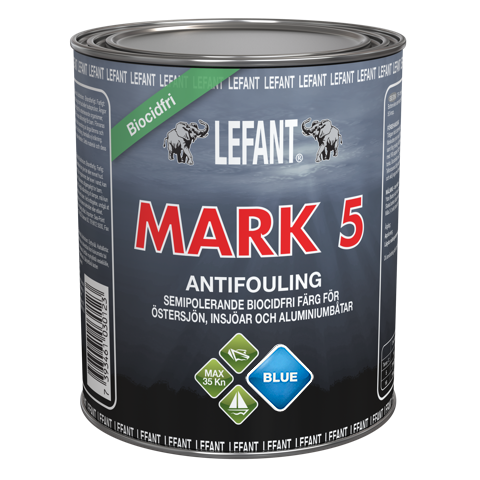 LEFANT Mark 5 Antifoulingmaali sininen 750ml